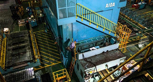Area Electric - Press Installation